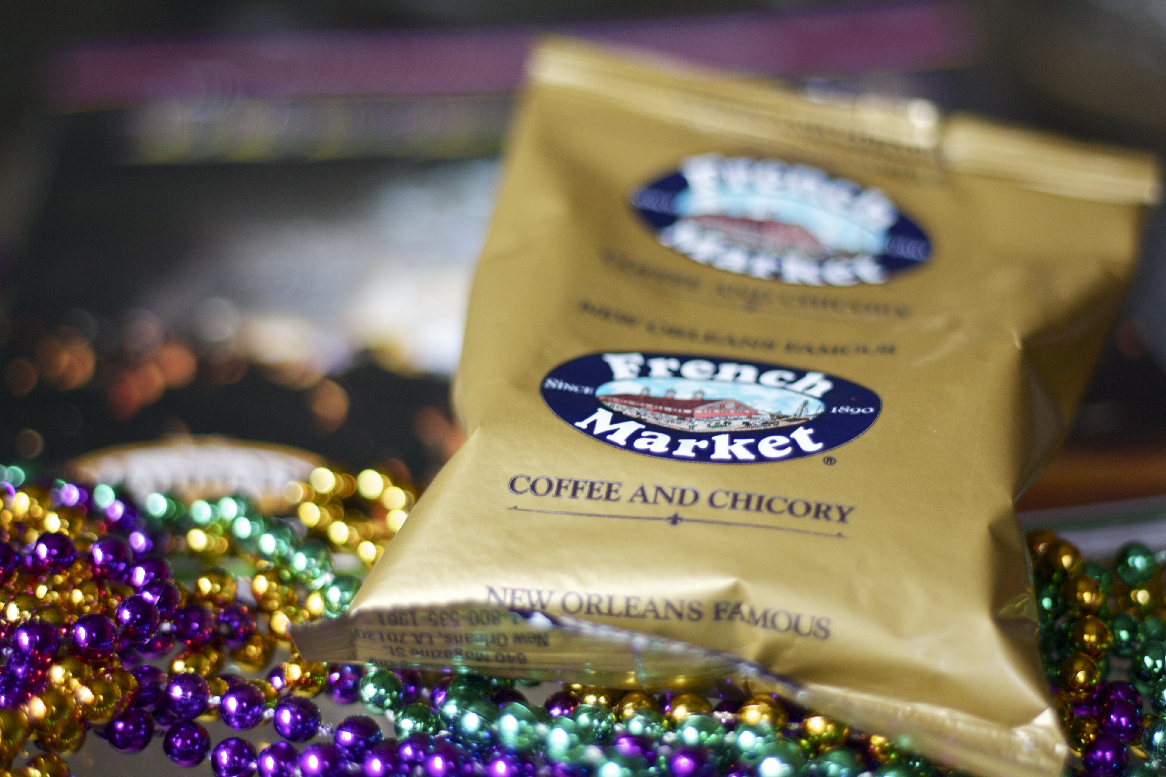 What is a Mardi Gras King Cake from Edible Times.